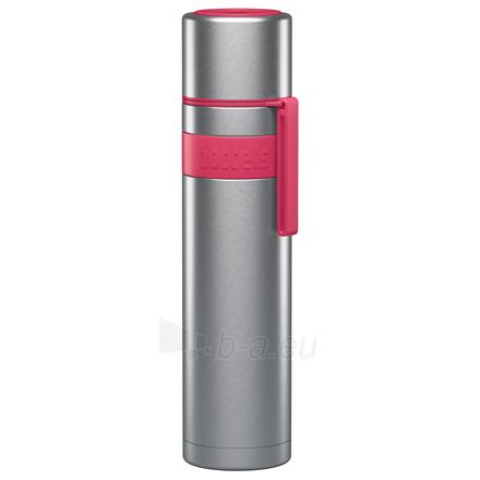 Termosas Boddels HEET Vacuum flask with cup Isothermal, Raspberry red, Capacity 0.7 L, Diameter 7.2 cm, Bisphenol A (BPA) free Paveikslėlis 1 iš 3 310820219671