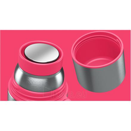 Termosas Boddels HEET Vacuum flask with cup Isothermal, Raspberry red, Capacity 0.7 L, Diameter 7.2 cm, Bisphenol A (BPA) free Paveikslėlis 2 iš 3 310820219671