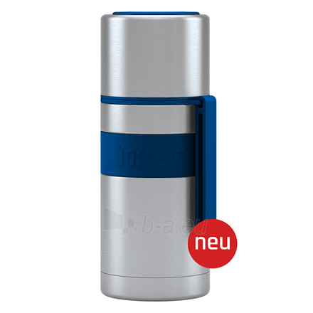 Termosas Boddels HEET Vacuum flask with cup Night blue, Capacity 0.35 L, Diameter 7.2 cm, Bisphenol A (BPA) free Paveikslėlis 1 iš 3 310820219664