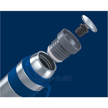 Termosas Boddels HEET Vacuum flask with cup Night blue, Capacity 0.35 L, Diameter 7.2 cm, Bisphenol A (BPA) free Paveikslėlis 3 iš 3 310820219664