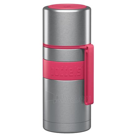 Termosas Boddels HEET Vacuum flask with cup Raspberry red, Capacity 0.35 L, Diameter 7.2 cm, Bisphenol A (BPA) free Paveikslėlis 1 iš 3 310820219661