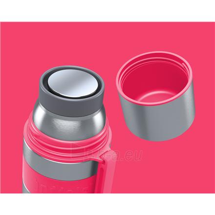 Termosas Boddels HEET Vacuum flask with cup Raspberry red, Capacity 0.5 L, Diameter 7.2 cm, Bisphenol A (BPA) free Paveikslėlis 2 iš 3 310820219666