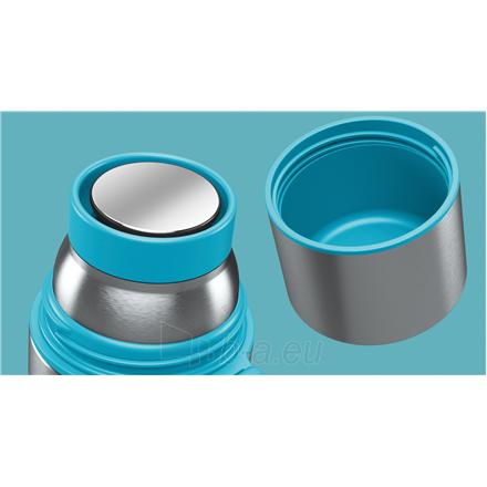 Termosas Boddels HEET Vacuum flask with cup Turquoise blue, Capacity 0.5 L, Diameter 7.2 cm, Bisphenol A (BPA) free Paveikslėlis 2 iš 3 310820219667