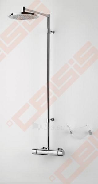 Termostatinė lietaus dušo sistema ORAS Cubista Paveikslėlis 1 iš 2 30091700023
