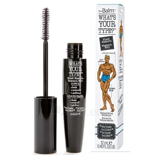 theBalm Mascara for volume what`s Your Body Builder Type- Black 12 ml Paveikslėlis 1 iš 1 310820161007