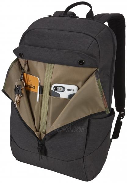 Thule Lithos Backpack 20L TLBP-116 Black (3203632) Paveikslėlis 5 iš 8 310820215853