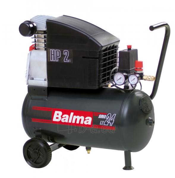 Tiesioginės pavaros kompresorius BALMA Sirio 241 Paveikslėlis 1 iš 1 225291000153
