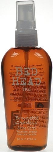 Tigi Bed Head Brunette Goddess Shine Spray Cosmetic 125ml Paveikslėlis 1 iš 1 250832500101