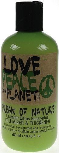 Tigi Love Peace & The Planet Leave In Volumizer Cosmetic 250ml Paveikslėlis 1 iš 1 250832400102