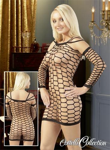 Tinklinė suknelė Net Dress black S-L Paveikslėlis 1 iš 1 310820021695