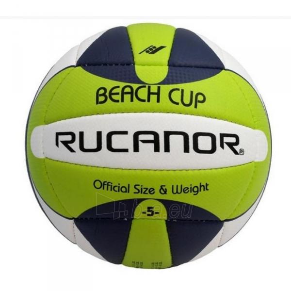 Tinklinio kamuolys RUCANOR Beach Cup 27364-02 Paveikslėlis 1 iš 3 250702000504