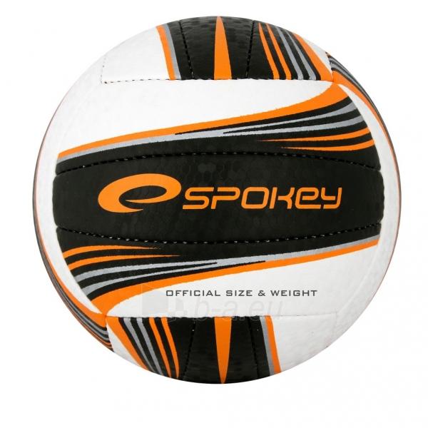 Tinklinio kamuolys Spoke GRAVEL II Balta- juoda grafika Paveikslėlis 1 iš 1 310820011923