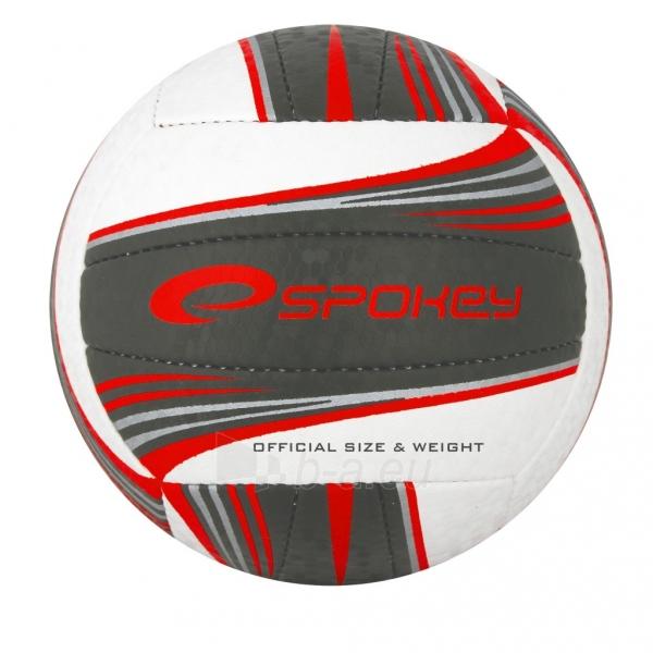 Tinklinio kamuolys Spoke GRAVEL II Balta- pilka grafika Paveikslėlis 1 iš 1 310820011915