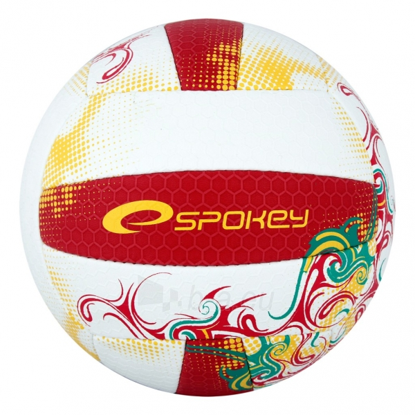 Tinklinio kamuolys Spokey EOS Balta- raudona grafika Paveikslėlis 1 iš 7 310820011908