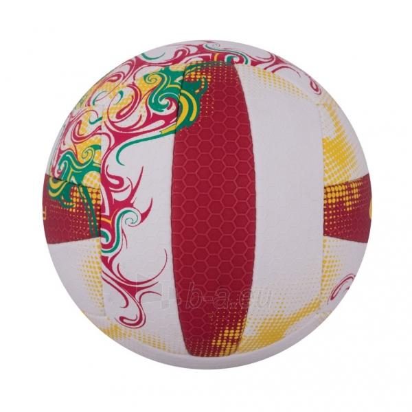 Tinklinio kamuolys Spokey EOS Balta- raudona grafika Paveikslėlis 2 iš 7 310820011908