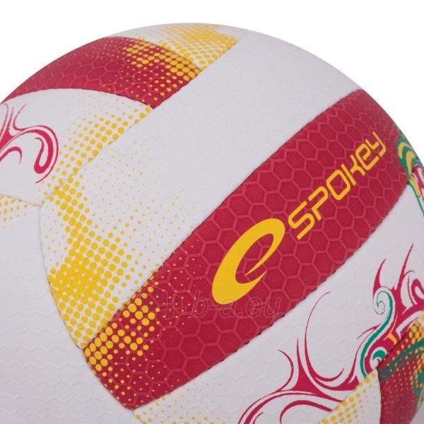 Tinklinio kamuolys Spokey EOS Balta- raudona grafika Paveikslėlis 3 iš 7 310820011908