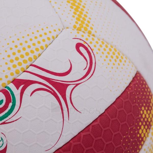 Tinklinio kamuolys Spokey EOS Balta- raudona grafika Paveikslėlis 4 iš 7 310820011908