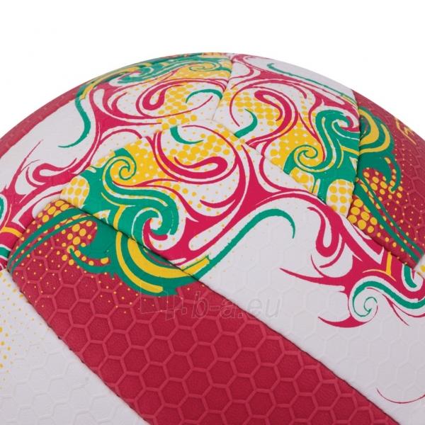 Tinklinio kamuolys Spokey EOS Balta- raudona grafika Paveikslėlis 5 iš 7 310820011908