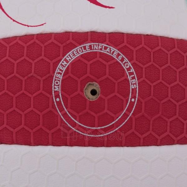 Tinklinio kamuolys Spokey EOS Balta- raudona grafika Paveikslėlis 6 iš 7 310820011908
