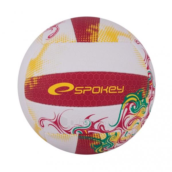 Tinklinio kamuolys Spokey EOS Balta- raudona grafika Paveikslėlis 7 iš 7 310820011908