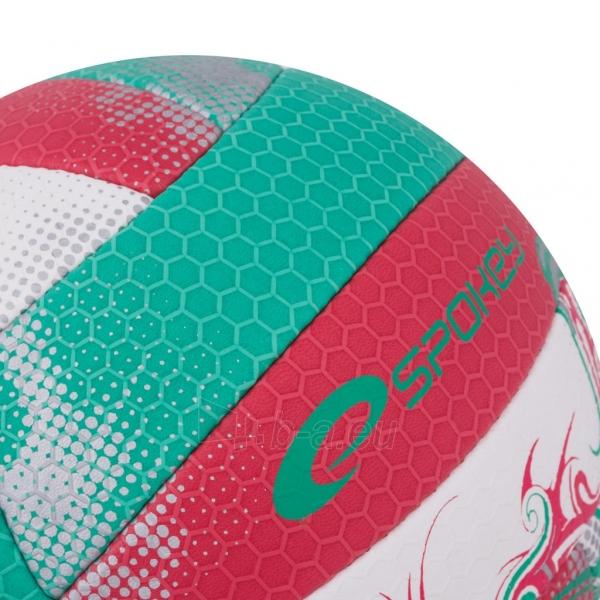 Tinklinio kamuolys Spokey EOS Žalia- raudona grafika Paveikslėlis 5 iš 7 310820011913