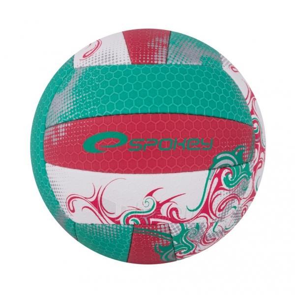 Tinklinio kamuolys Spokey EOS Žalia- raudona grafika Paveikslėlis 7 iš 7 310820011913