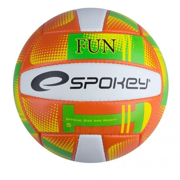 Tinklinio kamuolys Spokey FUN III Orange/yellow Paveikslėlis 1 iš 1 310820011033