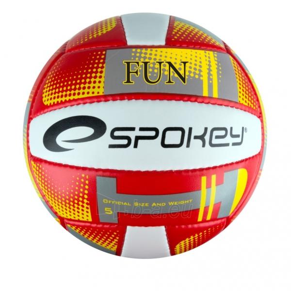 Tinklinio kamuolys Spokey FUN III Red/yellow Paveikslėlis 1 iš 1 310820011031
