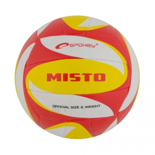 Tinklinio kamuolys Spokey MISTO Balta- raudona- geltona Paveikslėlis 1 iš 1 310820011927