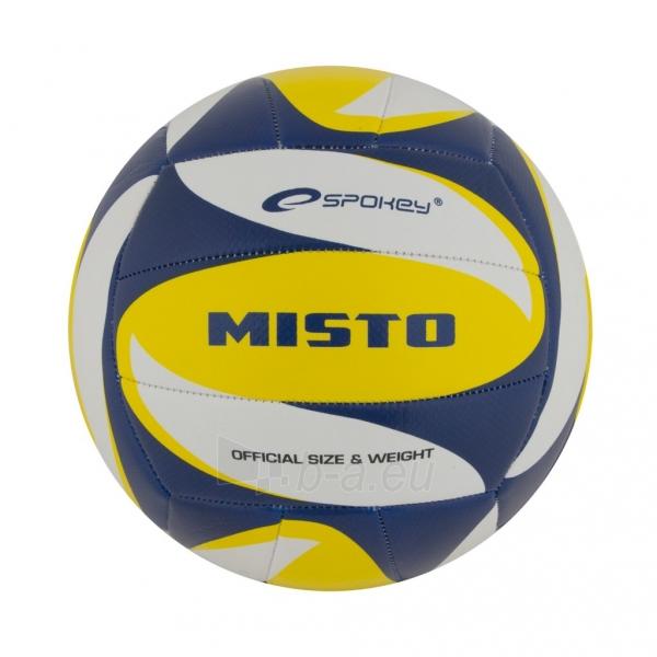 Tinklinio kamuolys Spokey MISTO Mėlyna- balta- geltona Paveikslėlis 1 iš 1 310820011920