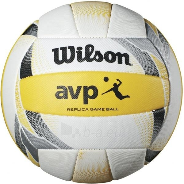 Tinklinio kamuolys WILSON AVP II REPLICA BEACH Paveikslėlis 1 iš 1 310820172469