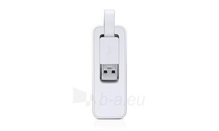 Tinklo plokštė TP-Link UE300 USB 3.0 to Gigabit ethernet RJ45 10/100/1000Mbps Paveikslėlis 2 iš 3 310820010904