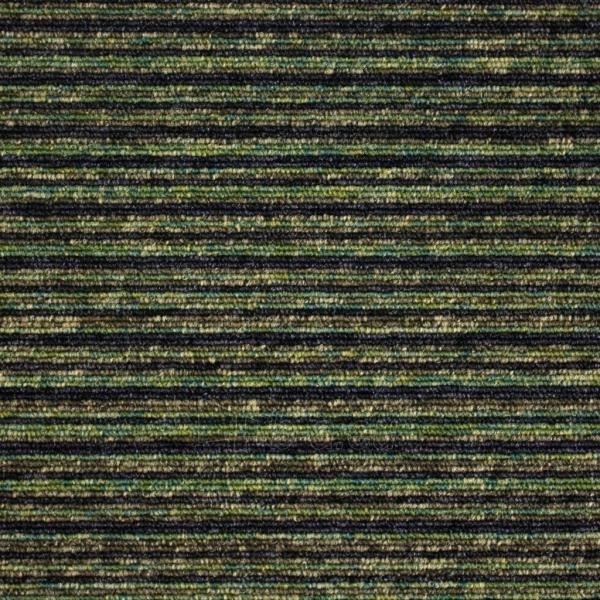 TIVOLI 21202, 25X100 cm, žalios dryžiais kiliminės plytelės Paveikslėlis 1 iš 1 310820029700