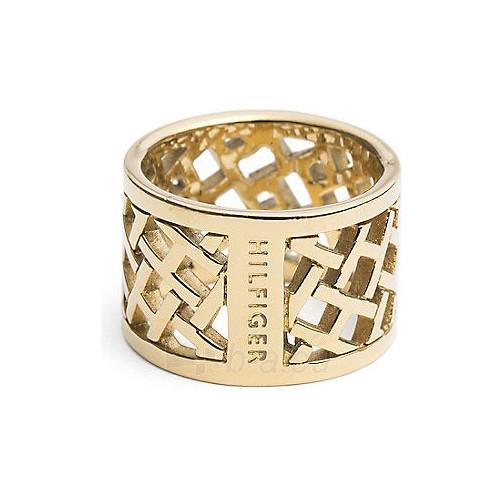 Tommy Hilfiger originalus paauksuotas žiedas TH2700750 (Dydis: 58 mm) Paveikslėlis 1 iš 1 310820023316