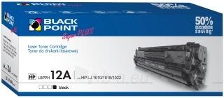 Toner Black Point LBPPH12A | Black | 3500 p. | HP Q2612A Paveikslėlis 1 iš 1 310820048577