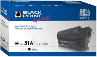Toner Black Point LBPPH51A | Black | 8400 p. | HP Q7551A Paveikslėlis 1 iš 1 310820048592