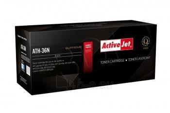 Toneris ActiveJet AT-36N | Black | 2500 psl | HP CB436A Paveikslėlis 1 iš 1 310820048727