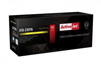 Toneris ActiveJet ATB-230YN | Yellow | 1400 str. | Brother TN-230Y Paveikslėlis 1 iš 1 310820044919