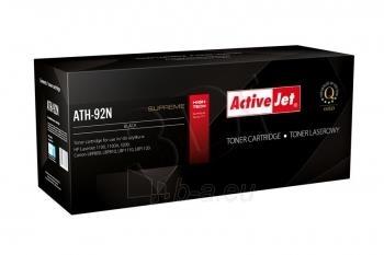 Toneris ActiveJet ATH-92AN   black   2500 str.   HP HP C4092A (92A), Canon EP-22 Paveikslėlis 1 iš 1 310820044923