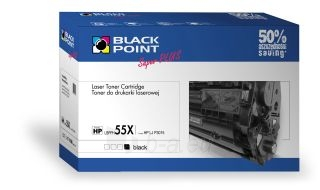 Toneris Black Point LBPPH55X | Black | 18500 p. | HP CE255X Paveikslėlis 1 iš 1 310820048683