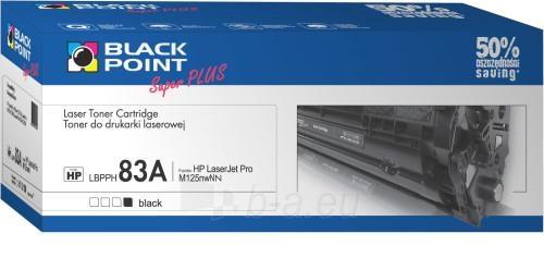 Toneris Black Point LBPPH83A | juodas | 2150 p. | HP CF283A Paveikslėlis 1 iš 1 310820044562