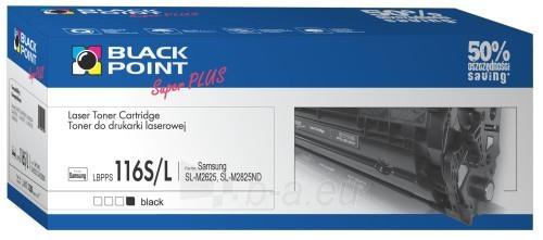 Toneris Black Point LBPPS116L | juodas | 3200 pp. | Samsung MLT-D116L Paveikslėlis 1 iš 1 310820044510