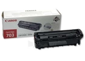 Toneris Canon CRG703 black | LBP-2900/LBP-3000 Paveikslėlis 1 iš 1 2502560201032