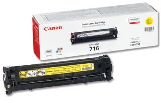 Toneris Canon CRG716 Y | LBP5050 Paveikslėlis 1 iš 1 2502560201037