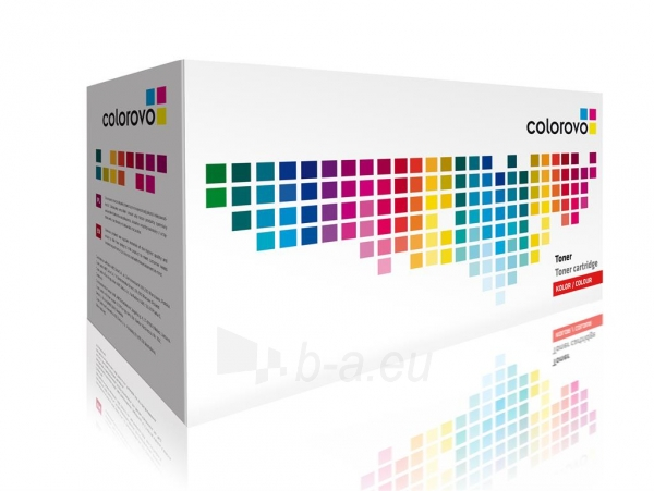 Toneris COLOROVO 402A-Y | yellow | 6000 str. | HP CE402A Paveikslėlis 1 iš 1 2502560201634