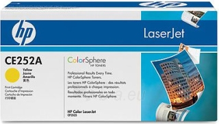 Toneris HP 504A yellow | 7000psl | ColorSphere | Color LaserJet CP3520 Paveikslėlis 1 iš 1 310820048523