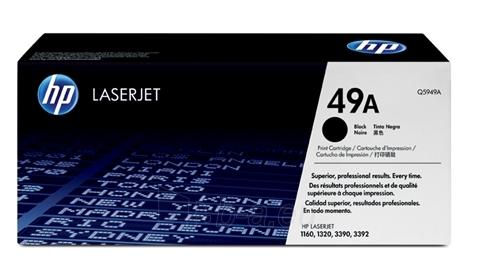 Toneris HP black | 2500psl | LaserJet1160/1320 Paveikslėlis 1 iš 1 310820044383