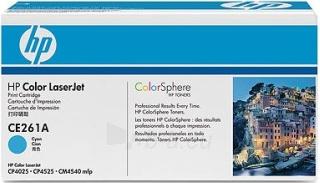 Toneris HP cyan   11000psl   LJ CP4025/4525 Paveikslėlis 1 iš 1 2502560201232