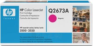Toneris HP magenta   4000psl   CLJ 3500/3550 Paveikslėlis 1 iš 1 2502560201256