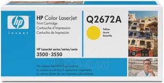 Toneris HP yellow   4000psl   CLJ 3500/3550 Paveikslėlis 1 iš 1 2502560201265